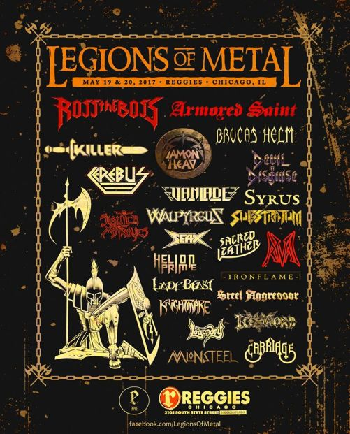 Legions Of Metal